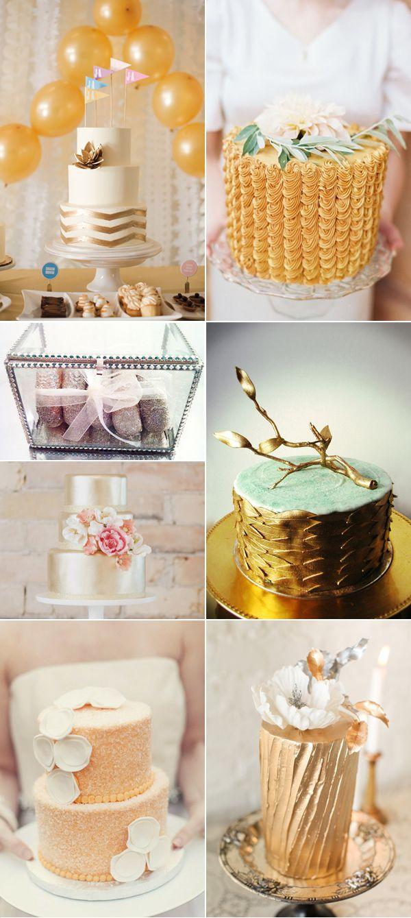 свадьба в золотых тонах