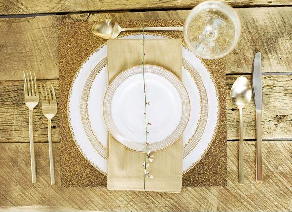 свадьба зимой в золото цвете