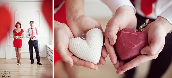аксессуары для фотосессии день святого валентина
