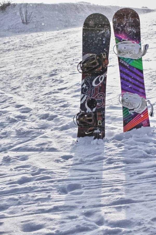 фотосессия на сноубордах