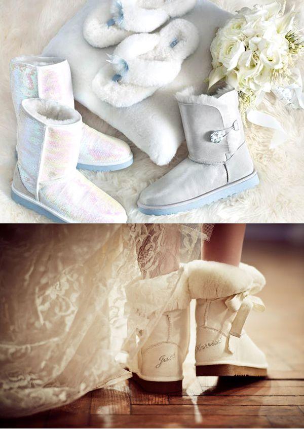 обувь на свадьбу зимой