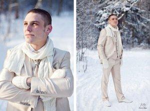 образ жениха зимой