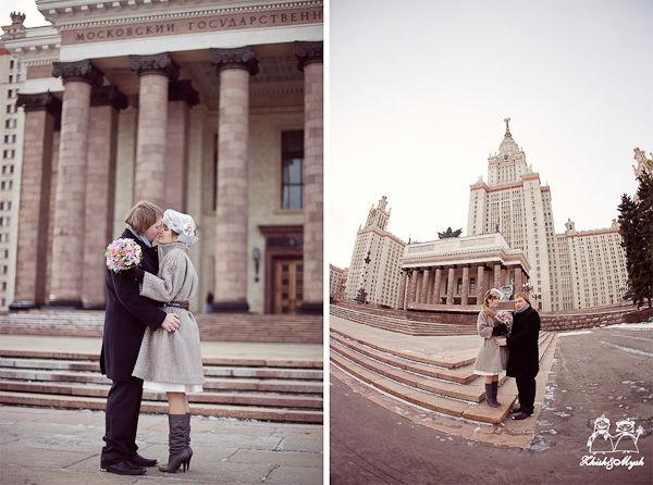 свадебная фотосессия ретро