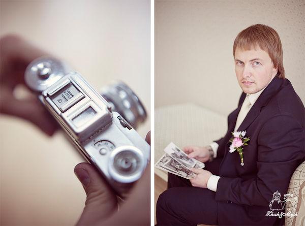 аксессуары в стиле ретро на свадьбу