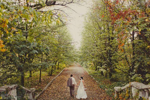 свадебные фотосессии на природе