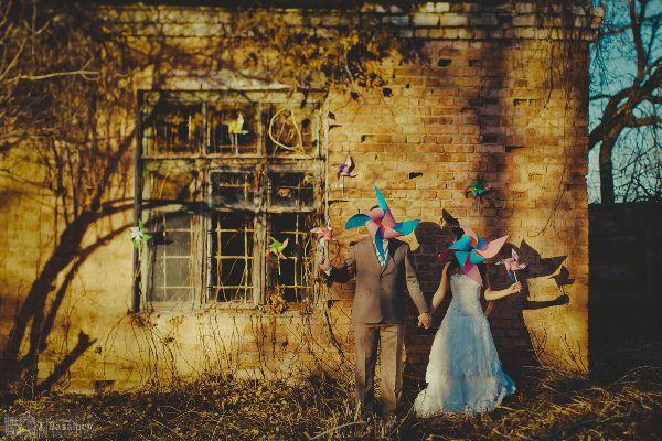 винтажная фотосессия осенью