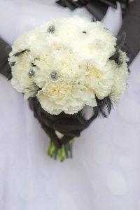 букет невесты белого цвета
