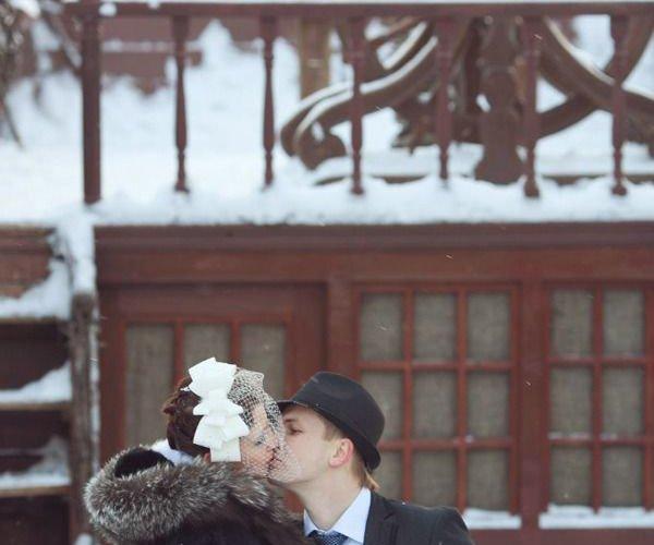 ретро свадьба фотосессия