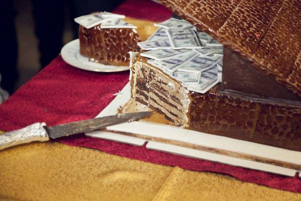 торт на ретро свадьбу