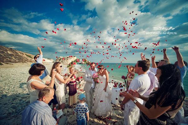 выездная церемония на Кипре