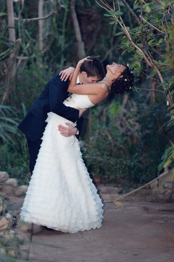 свадьба зимой в ботаническом саду