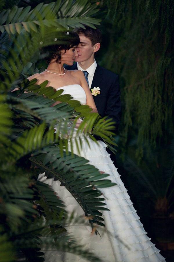 свадебная фотосессия в оранжерее