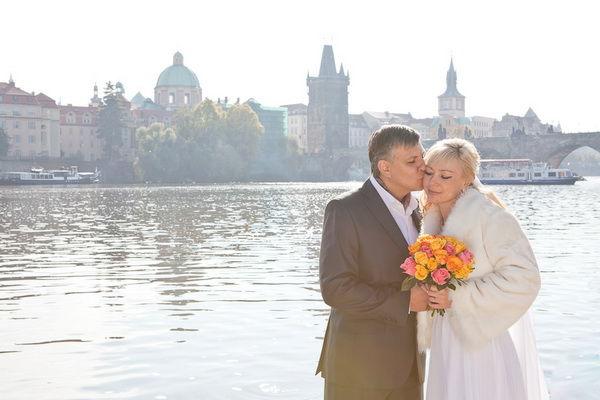 свадьба за границей Прага