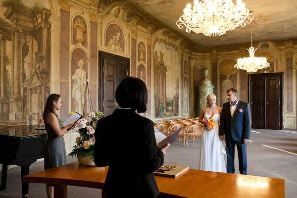 свадьба в пражском замке