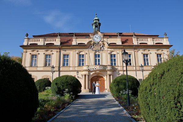 свадьба в Праге в замке