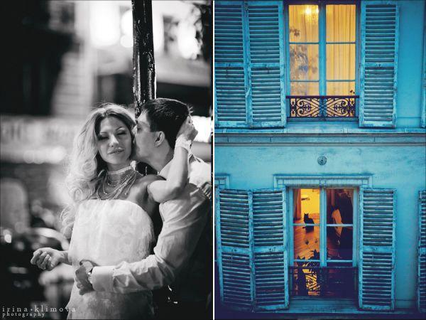 черно-белая свадебная фотосессия