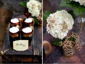 напитки на свадьбе оформление