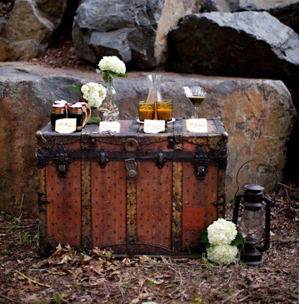 оформление винтажной свадьбы