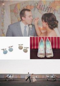образ жениха и невесты запонки и туфли