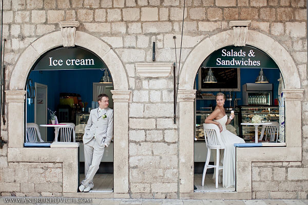 свадьба в Дубровнике