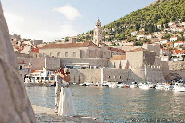свадебная фотосессия в Дубровнике