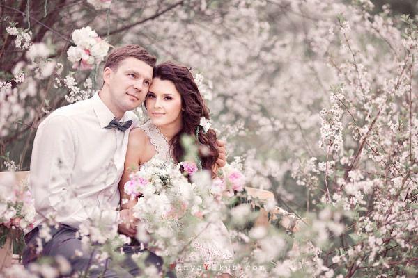 свадебная фотосессия в стиле шебби шик
