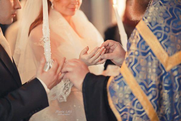 венчание фотосессия зимой