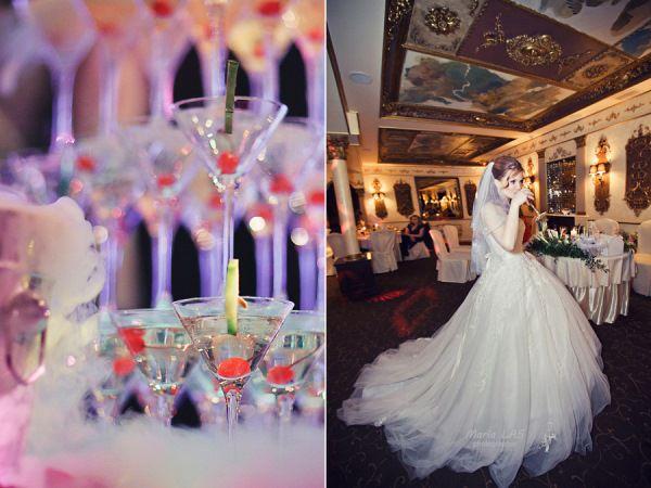 классическая свадьба в ресторане