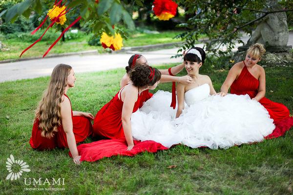 образ невесты и подружек