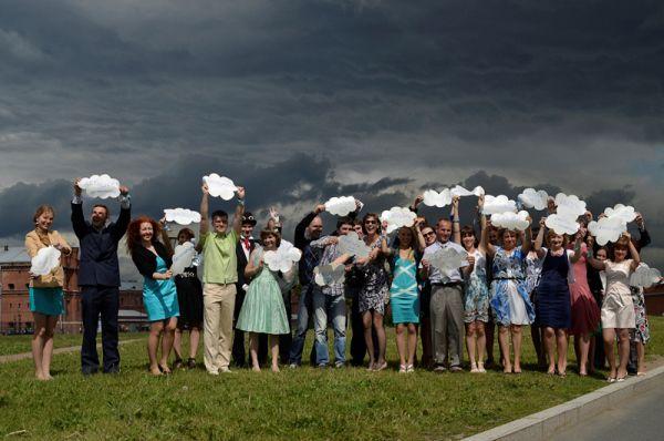 фотосессия гостей на свадьбе