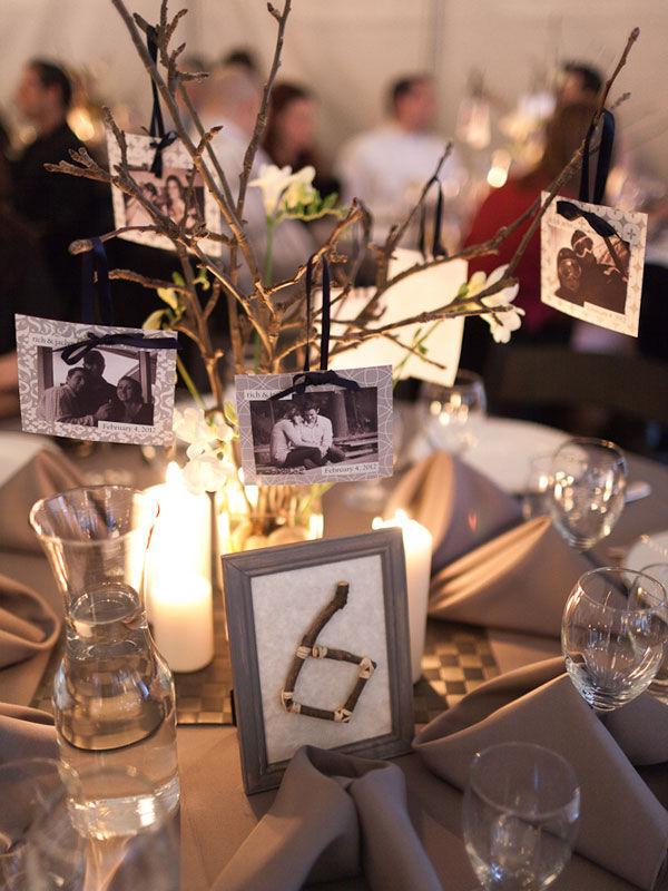 номера столов на свадьбе