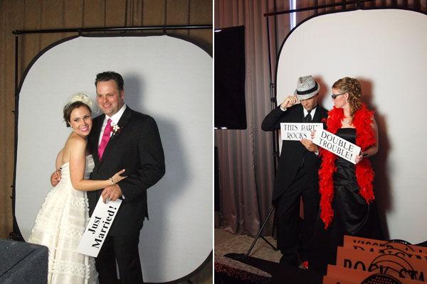 фотобудка на свадьбе для гостей