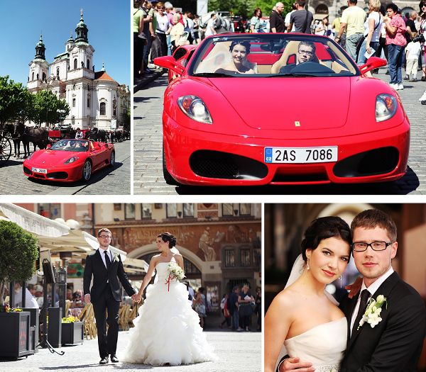 весенняя свадьба в Праге