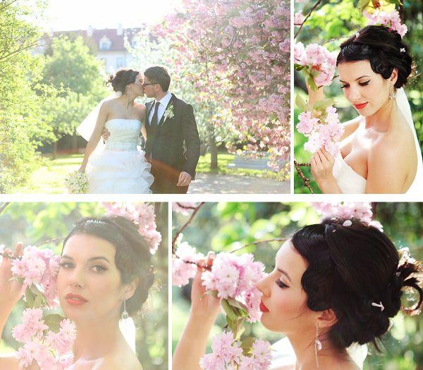 весенняя свадьба в Чехии