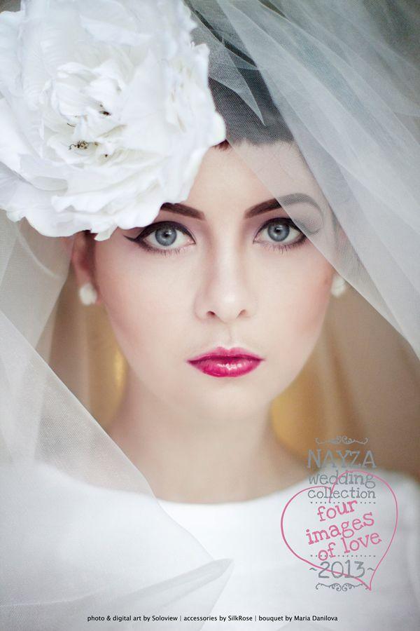 яркий макияж на свадьбу