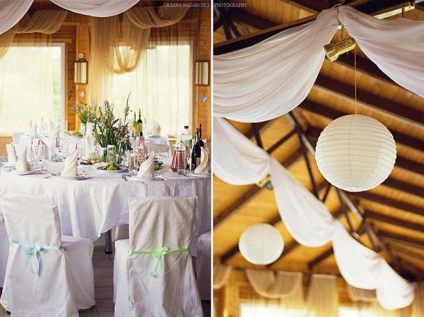 оформление свадьбы летом