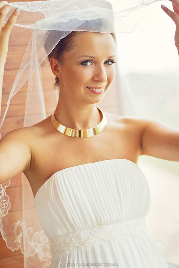 свадебный образ невесты летом