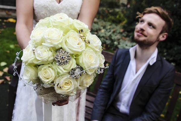 букет невесты в стиле барокко