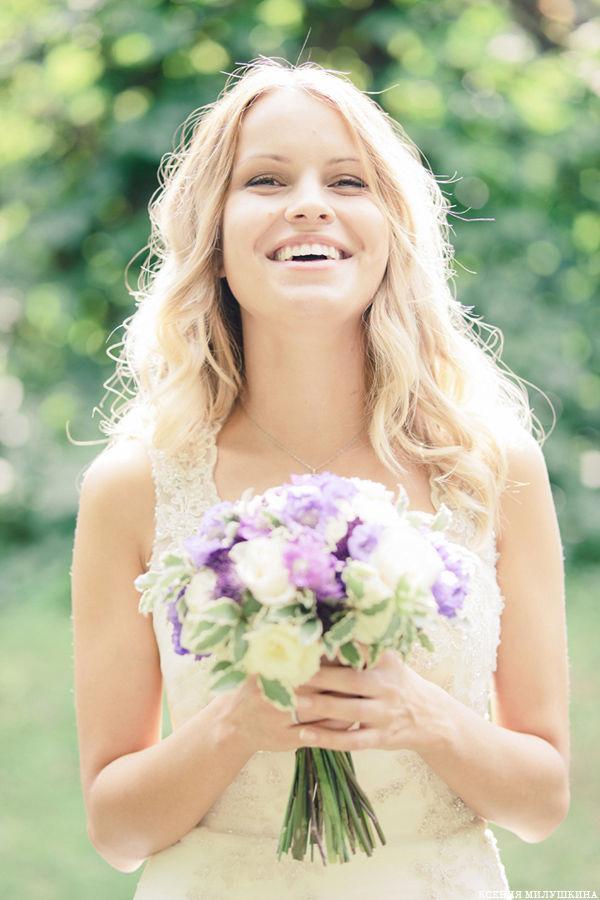 образ невесты на летней свадьбе