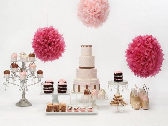 оформление свадьбы в шоколадно-розовом цвете