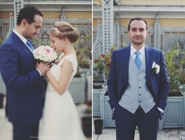 свадебные образы невесты и жениха