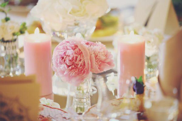 оформление свадьбы шебби шик