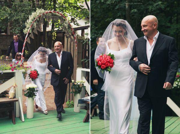 выездная свадебная церемония на природе