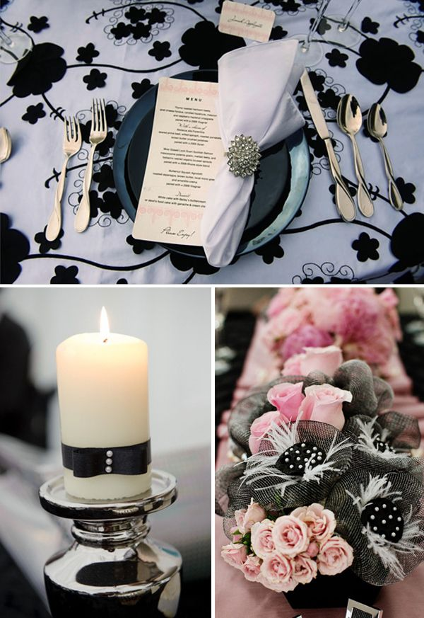 декор свадьбы шанель