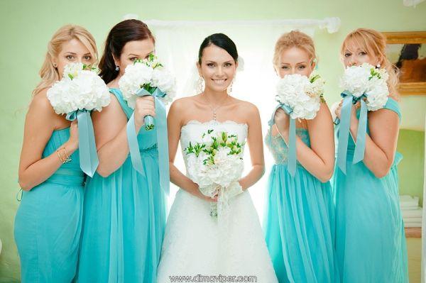 образы невесты и подружек
