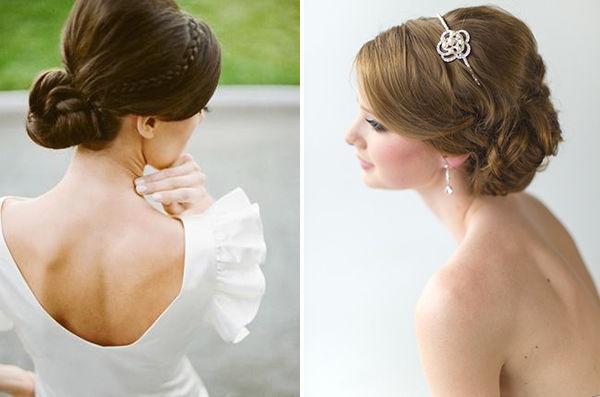 прическа невесты 2013