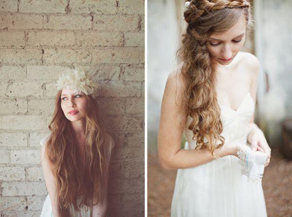 прически невесты на длинные волосы
