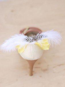 свадебные туфли декор своими руками