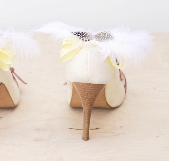 свадебные туфли своими руками