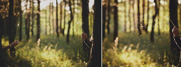 весенняя фотосессия на природе